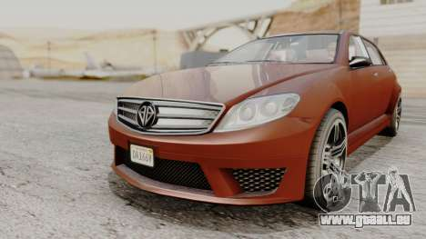 GTA 5 Benefactor Schafter LWB pour GTA San Andreas