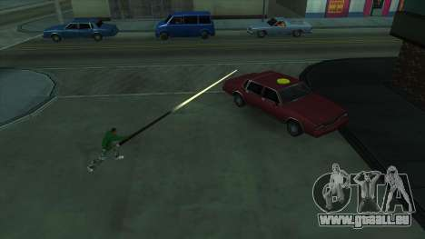 Cleo Mod San Andreas pour GTA San Andreas deuxième écran