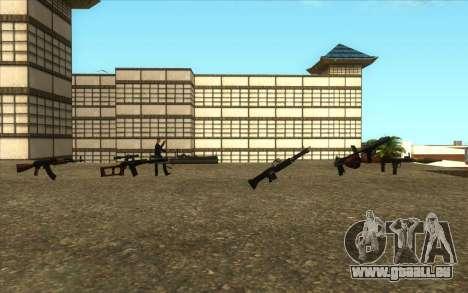 La Visite De Wu Zi Mu pour GTA San Andreas quatrième écran
