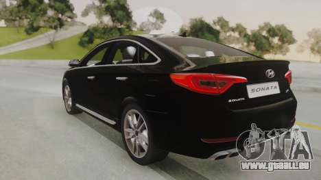 Hyundai Sonata Turbo 2.0 2015 V1.0 Final für GTA San Andreas linke Ansicht