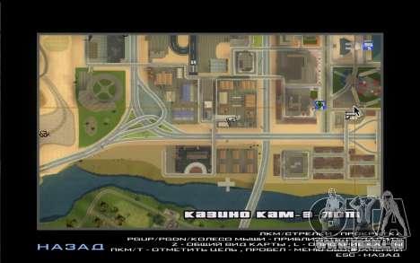 La Visite De Wu Zi Mu pour GTA San Andreas cinquième écran