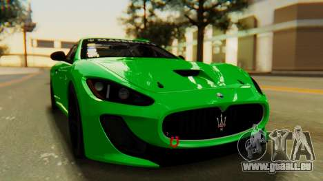 Maserati Gran Turismo Tron pour GTA San Andreas vue de droite