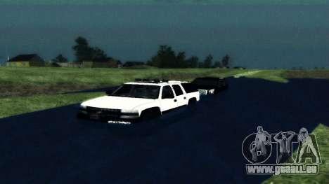 Chevrolet Suburban Offroad Final Version für GTA San Andreas rechten Ansicht