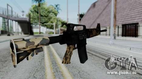 M16 A2 Carbine M727 v2 pour GTA San Andreas deuxième écran
