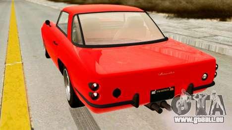 Casco from GTA 5 pour GTA San Andreas laissé vue