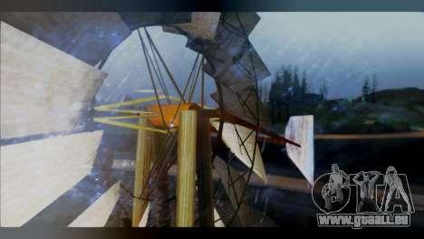 Raveheart 248F pour GTA San Andreas deuxième écran