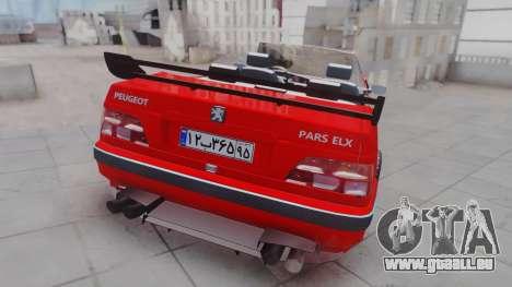 Peugeot Pars Spayder Sport pour GTA San Andreas laissé vue