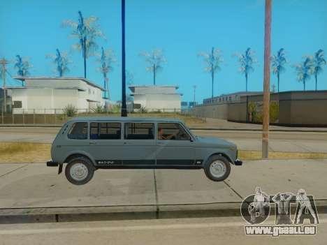 ВАЗ 2131 7-porte [HQ Version] pour GTA San Andreas vue de droite