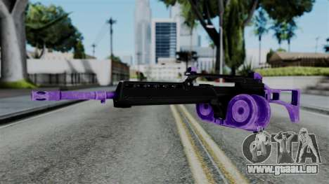 Purple M4 pour GTA San Andreas