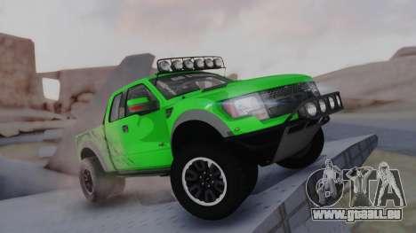 Ford F-150 SVT Raptor 2012 pour GTA San Andreas