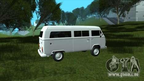 Volkswagen Kombi 2004 pour GTA San Andreas laissé vue