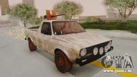 Volkswagen Caddy Military Vehicle pour GTA San Andreas