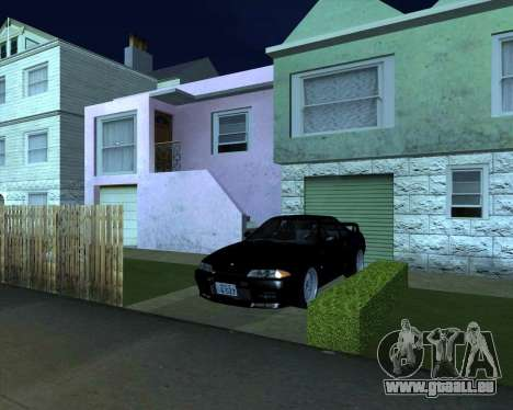 Nissan Skyline GT-R BNR32 Initial D Legend 2 N.K für GTA San Andreas