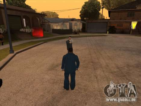 Russian mafia in Ganton für GTA San Andreas her Screenshot