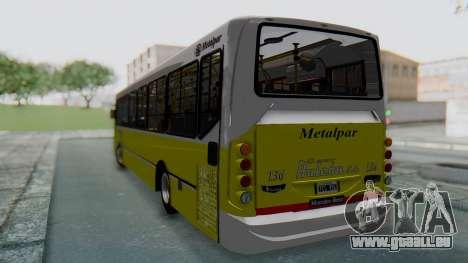 Mercedes-Benz 1718L-SB Linea 148 pour GTA San Andreas sur la vue arrière gauche