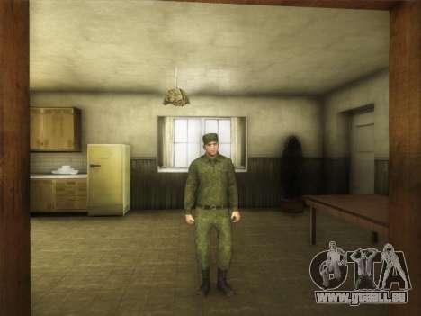 L'Ordinaire Modernes De L'Armée De La Russie pour GTA San Andreas