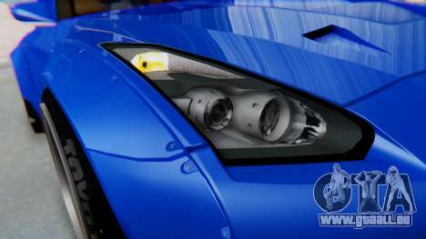 Nissan GT-R R35 Rocket Bunny pour GTA San Andreas vue intérieure