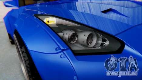 Nissan GT-R R35 Rocket Bunny für GTA San Andreas Innenansicht