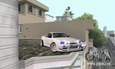 Nissan Skyline R34 Pickup für GTA San Andreas