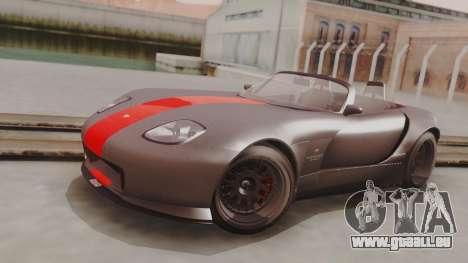 GTA 5 Bravado Banshee 900R Carbon IVF pour GTA San Andreas