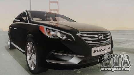 Hyundai Sonata Turbo 2.0 2015 V1.0 Final für GTA San Andreas rechten Ansicht