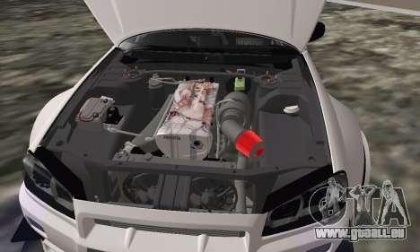 Nissan Skyline R34 Pickup pour GTA San Andreas vue de droite