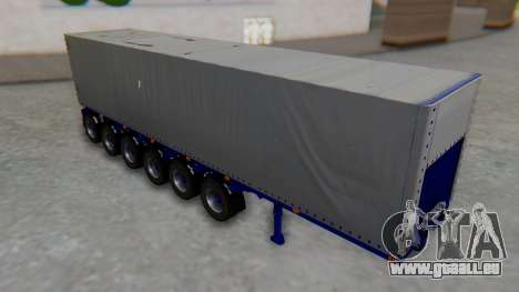Trailer Colis Blue für GTA San Andreas
