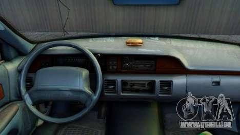 Chevrolet Caprice 1993 pour GTA San Andreas vue arrière