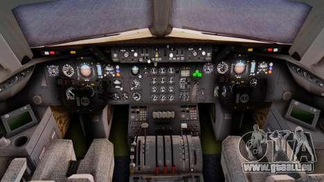 McDonnell-Douglas DC-10-30 Saudia pour GTA San Andreas sur la vue arrière gauche