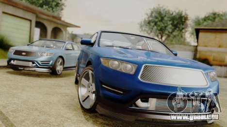 GTA 5 Vapid Greenwood pour GTA San Andreas