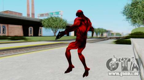 The Amazing Spider-Man 2 Game - Carnage für GTA San Andreas dritten Screenshot