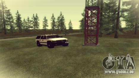 Chevrolet Suburban Offroad Final Version pour GTA San Andreas laissé vue