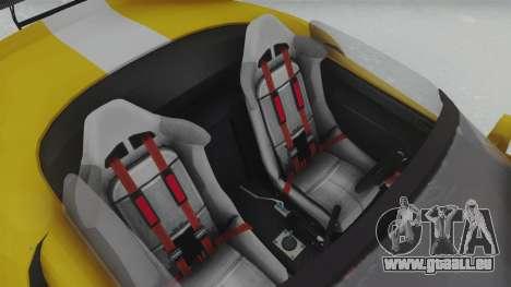 GTA 5 Bravado Banshee 900R Tuned pour GTA San Andreas vue arrière