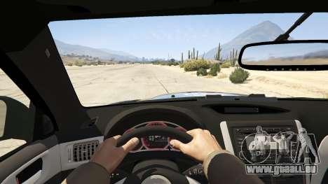 GTA 5 LAPD Subaru Impreza WRX STI Rückansicht