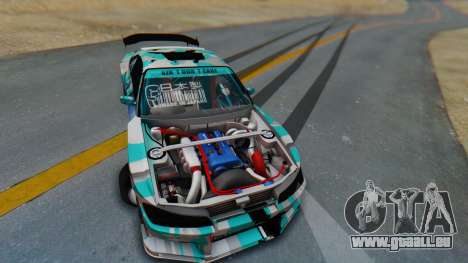 Nissan Silvia s15 Itasha [EDE-Crew] für GTA San Andreas Innenansicht