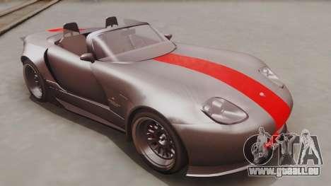 GTA 5 Bravado Banshee 900R Carbon IVF pour GTA San Andreas vue de droite