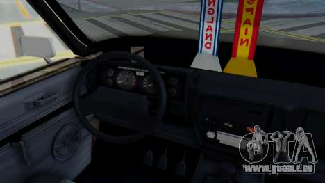 Peykan 80 Spyder pour GTA San Andreas vue intérieure