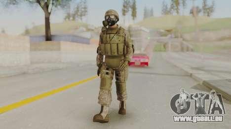 US Army Urban Soldier Gas Mask from Alpha Protoc pour GTA San Andreas deuxième écran