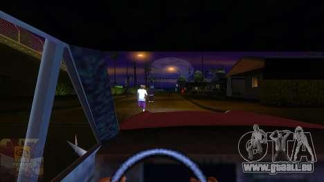 La première personne de la v3.0 pour GTA San Andreas quatrième écran