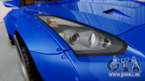 Nissan GT-R R35 Rocket Bunny pour GTA San Andreas vue de côté