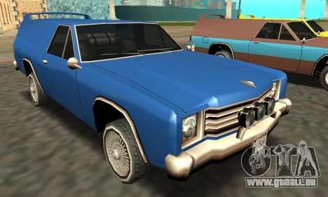 Picador Vagon Extreme pour GTA San Andreas roue