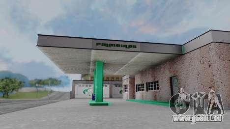 New Garage in San Fierro für GTA San Andreas dritten Screenshot