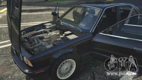 GTA 5 BMW 535i E34 vorne rechts Seitenansicht