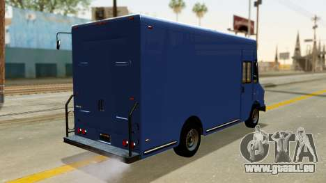Boxville from GTA 5 pour GTA San Andreas laissé vue
