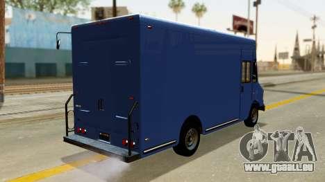 Boxville from GTA 5 für GTA San Andreas linke Ansicht