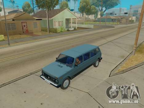 ВАЗ 2131 7-porte [HQ Version] pour GTA San Andreas
