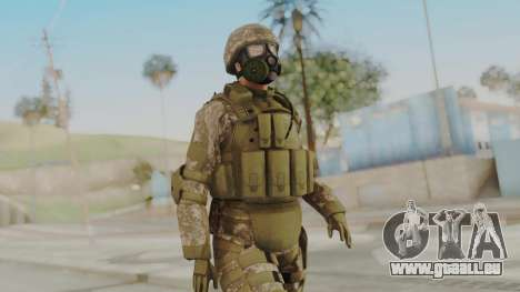 US Army Urban Soldier Gas Mask from Alpha Protoc pour GTA San Andreas