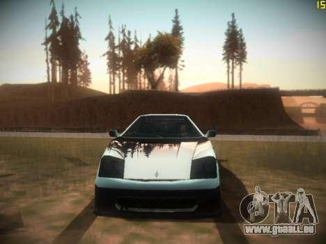 Folgende ENB V1.0 für mittlere PC für GTA San Andreas fünften Screenshot