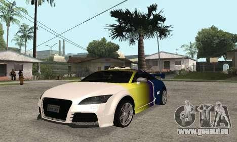 Audi TT-RS Tunable pour GTA San Andreas vue de côté