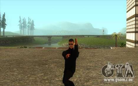 La Visite De Wu Zi Mu pour GTA San Andreas troisième écran